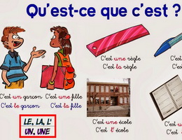 C'est và Ce sont - Cách sử dụng trong giao tiếp tiếng Pháp